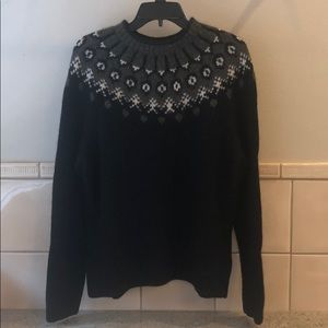 Vintage new Ralph Lauren hand knit wool sweater
